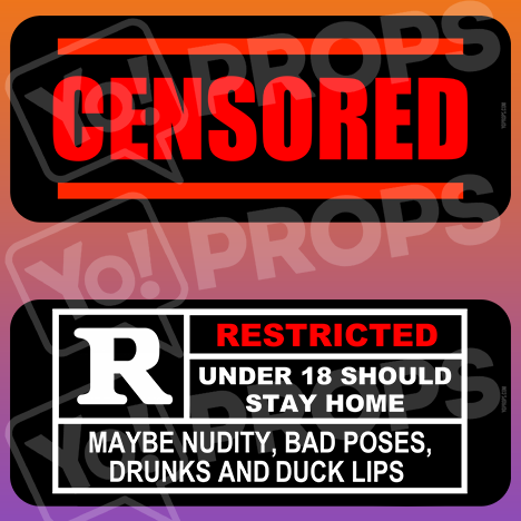 "Adult - ""Rated R"" & ""Censored"""