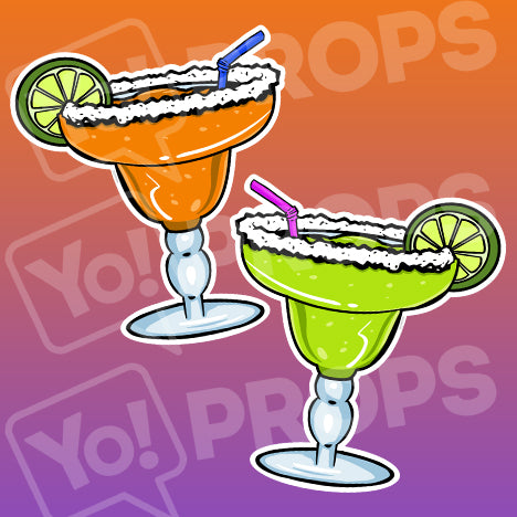 Fiesta Props – Margarita Glass