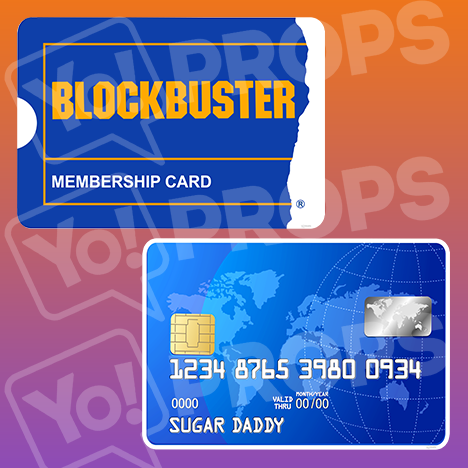 Prop - Blockbuster / Credit Card