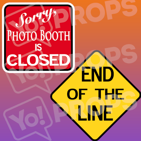 Photo Booth Closed/End of the Line
