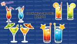 Cocktails Galore! Bundle of (4)