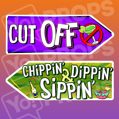Fiesta Signs - Cut Off / Chippin', Dippin', & Sippin'