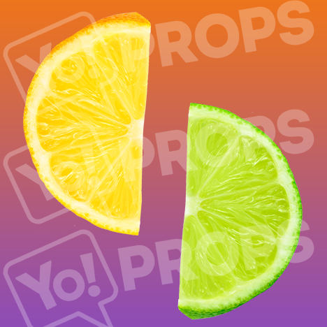 "Drinking Prop – ""Lime / Lemon"""