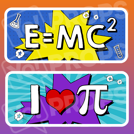 E=Mc2/I Love Pi - BACK IN STOCK OCT 15!
