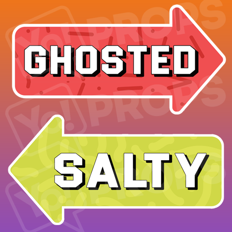 Ghosted / Salty Arrow
