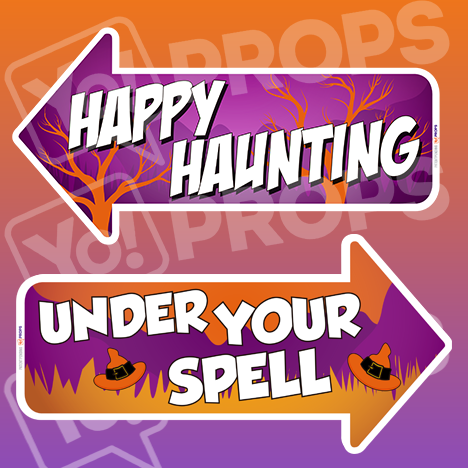Halloween - Happy Haunting/Under your Spell