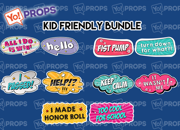 A Set Of (5) Signs – Kid Friendly Bundle