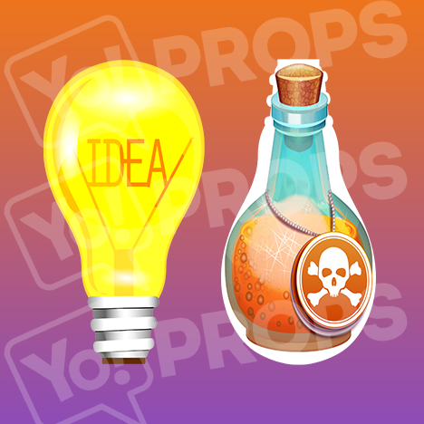 Prop - Light Bulb / Potion Bottle