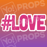 #LOVE – Hashtag – Small