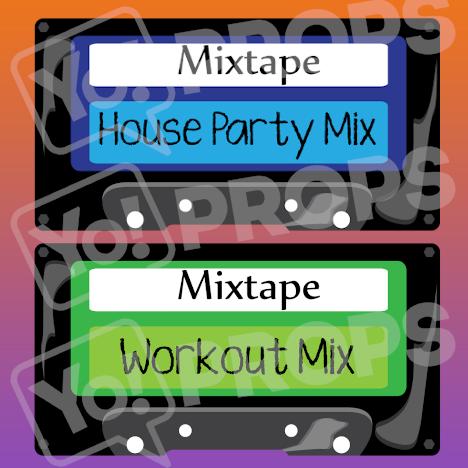 Retro - Mix Tape (blue/green)