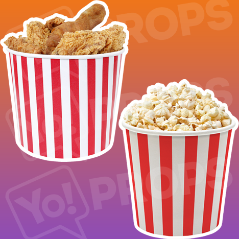 Oversized Popcorn / Chicken Bucket