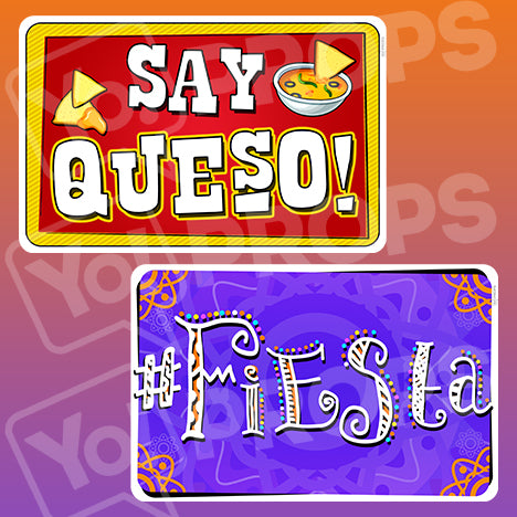 Fiesta Signs - Say Queso / #Fiesta
