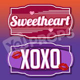 Sweetheart / XOXO
