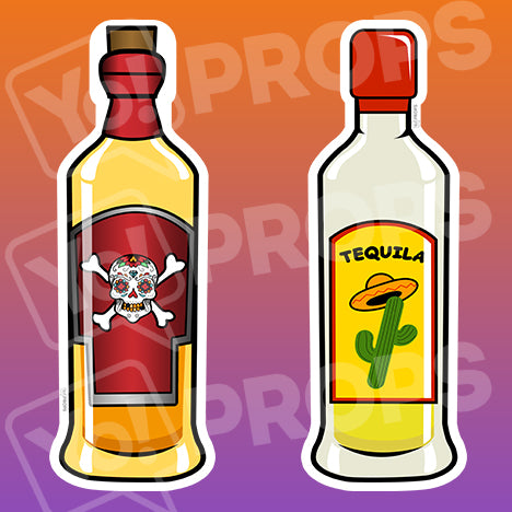 Fiesta Props – Tequila / Poison Bottle