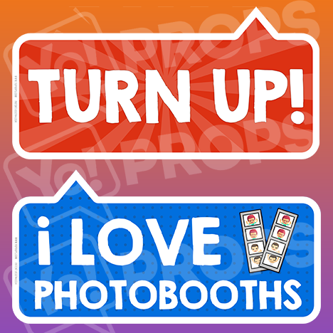 "All in One 1.0 - ""Turn Up!"" & ""I Love Photobooths"""