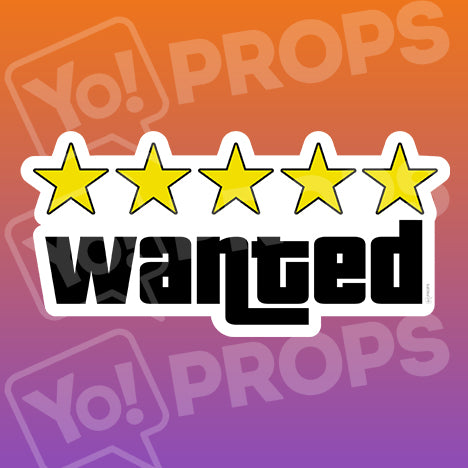 Wanted Five Stars Prop
