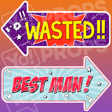 Wedding - Best Man & Wasted