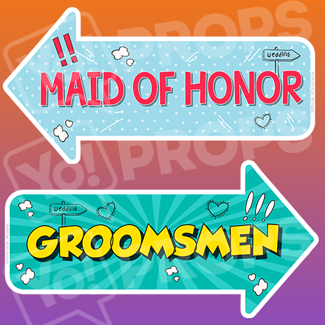 Wedding - Maid of Honor / Groomsmen