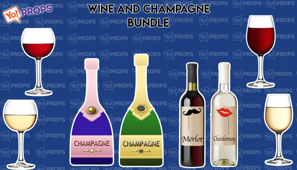 Wine and Champagne Bundle of (4)