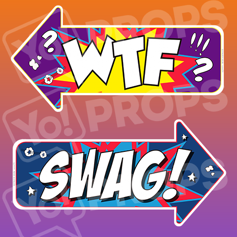 Prop - WTF / Swag Arrow