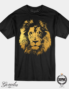 Lion Gold Foil Goudababy T shirt