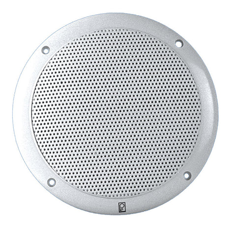 "PolyPlanar 6"" 2-Way Coax-Integral Grill Marine Speaker - (Pair) White for $68.99 at First Choice Premier Tackle, Inc."