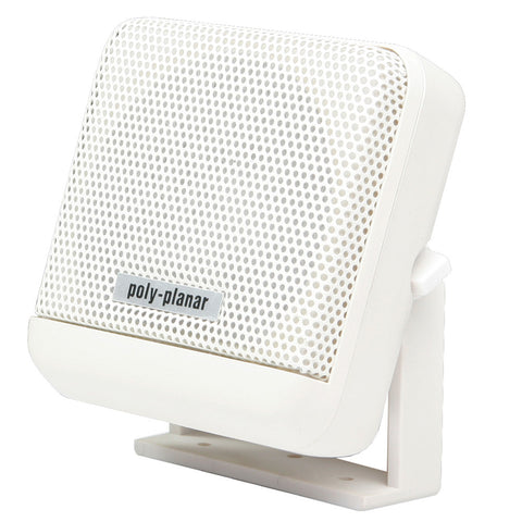 PolyPlanar VHF Extension Speaker -10W Surface Mount - (Single) White for $30.99 at First Choice Premier Tackle, Inc.