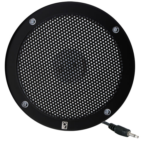 "PolyPlanar 5"" VHF Extension Speaker - Flush Mount - (Single) Black for $35.99 at First Choice Premier Tackle, Inc."