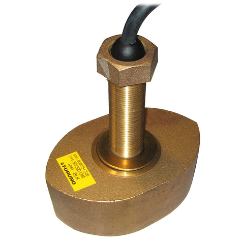 Furuno CA50/200/12M Bronze Thru-Hull Transducer, 1kW (No Plug) for $843.99 at First Choice Premier Tackle, Inc.