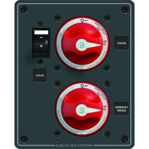 Blue Sea 8080 Single Circuit ON/OFF - Plus Main for $193.99 at First Choice Premier Tackle, Inc.