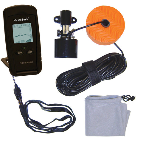 HawkEye Portable Fish Finder w/WeedID® for $69.99 at First Choice Premier Tackle, Inc.