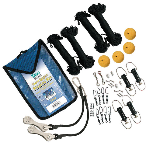 TACO Premium Double Rigging Kit f/2-Rigs on 2-Poles for $134.99 at First Choice Premier Tackle, Inc.
