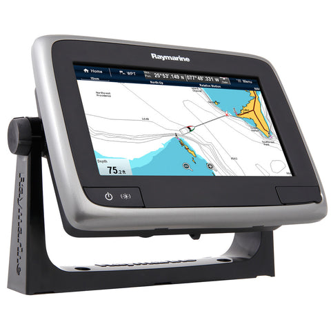 "Raymarine a75 Wi-Fi 7"" MFD Touchscreen - Lighthouse Navigation Charts - NOAA Vector for $849.99 at First Choice Premier Tackle, Inc."