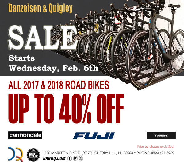 Road bikes on sale up to 40% off