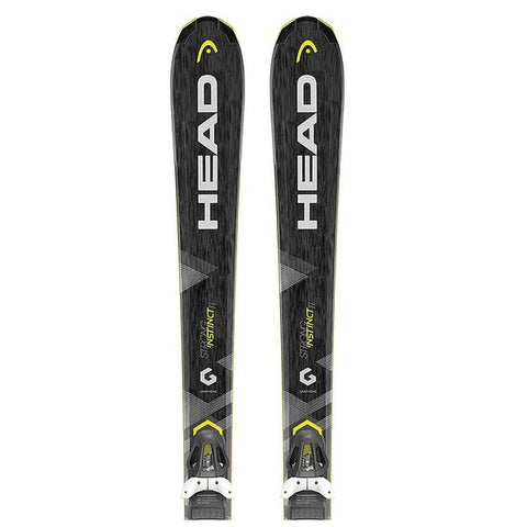 Head Strong Instinct Ti PR 11 Unisex Skis 2018