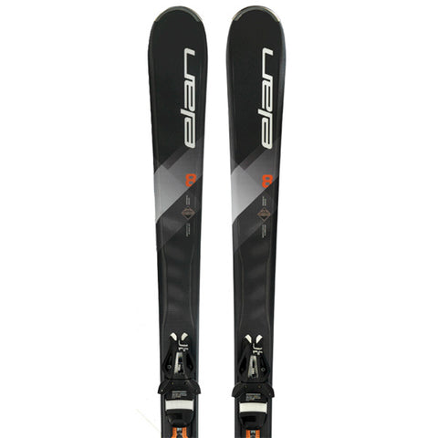 Elan Explore 8 Orange Power Shift EL 10 Unisex Skis 2018
