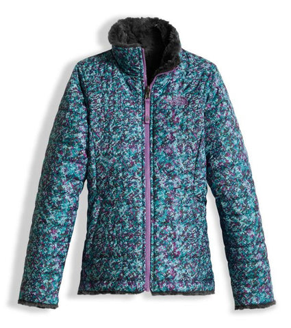 The North Face Reversible Girl's Mossbud Swirl Jacket 2017-18