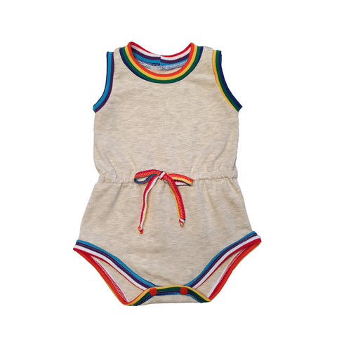 Retro Rainbow Romper