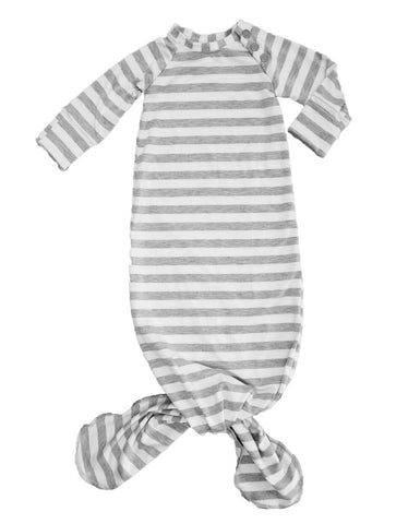 Grey / White Striped Knotted Sleeper