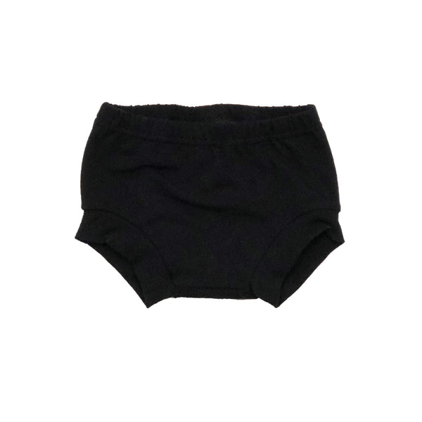 Baby & Toddler Solid Black Shorties