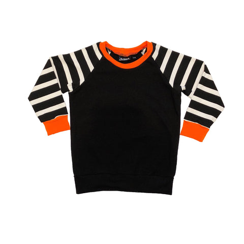 Halloween Long Sleeve Raglan Top