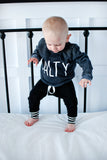Baby & Toddler Black / Stripe Joggers