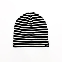 Baby & Toddler Black Stripe Beanie
