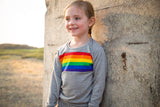 Rainbow Bright Retro Top