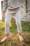 Baby & Toddler Grey Retro Rainbow Leggings