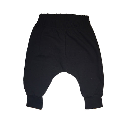 Baby & Toddler Solid Black Harems