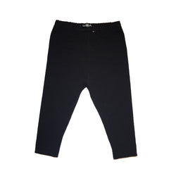Baby & Toddler Solid Black Leggings