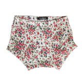 Cream Floral Shorties