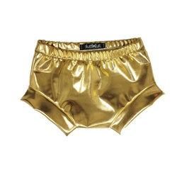 Metallic Gold Shorties