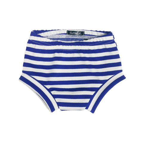 Royal Blue & White Stripe Shorties